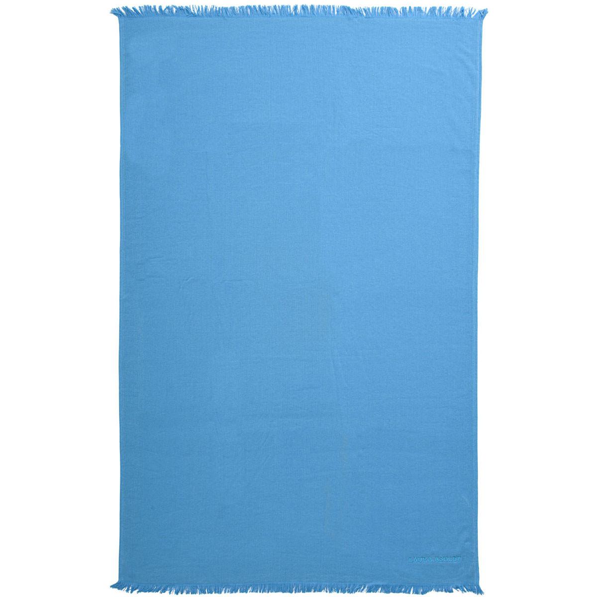 Πετσέτα Θαλάσσης Laura Ashley Solo Blue