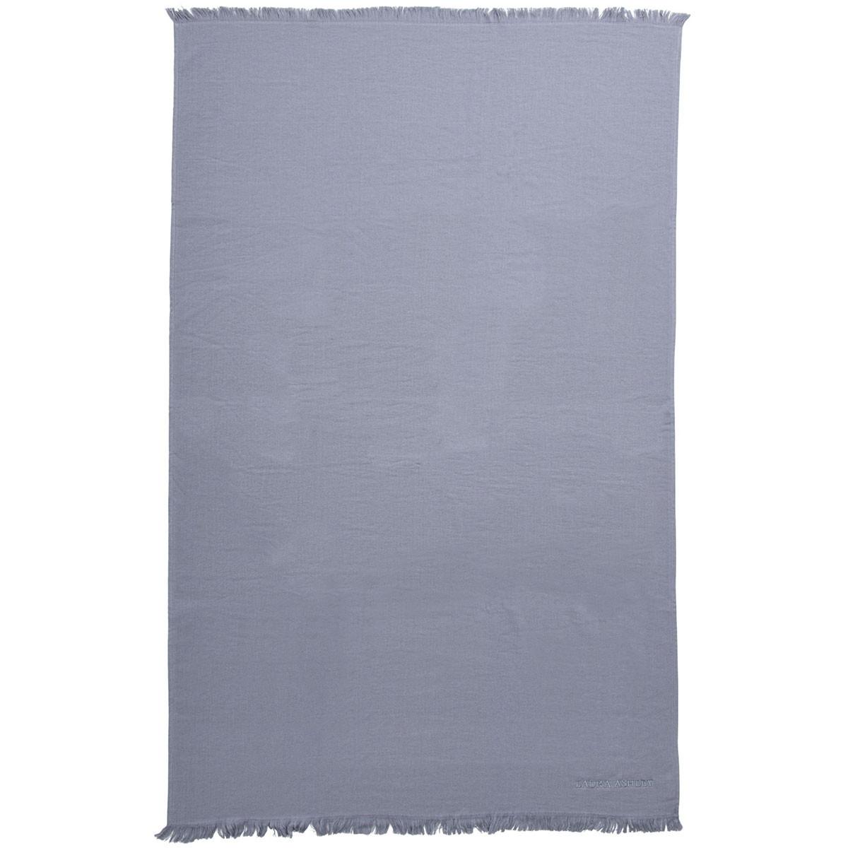 Πετσέτα Θαλάσσης Laura Ashley Solo Grey