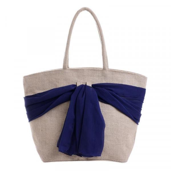 Ψάθινη Τσάντα Θαλάσσης InArt 5-42-096-0009