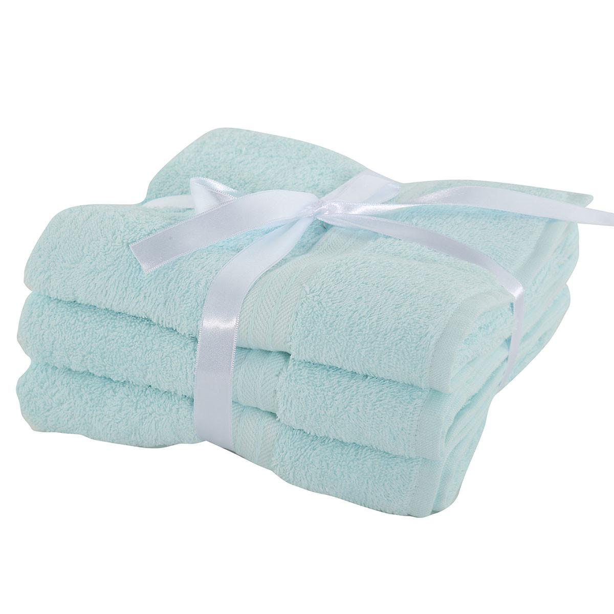 Πετσέτες Προσώπου (Σετ 3τμχ) Nef-Nef Cosy Mint