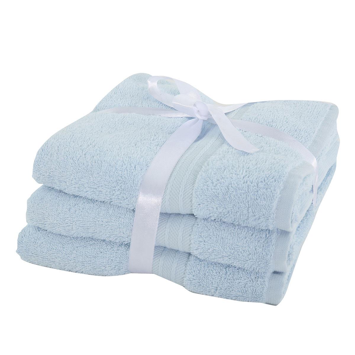 Πετσέτες Προσώπου (Σετ 3τμχ) Nef-Nef Cosy Blue