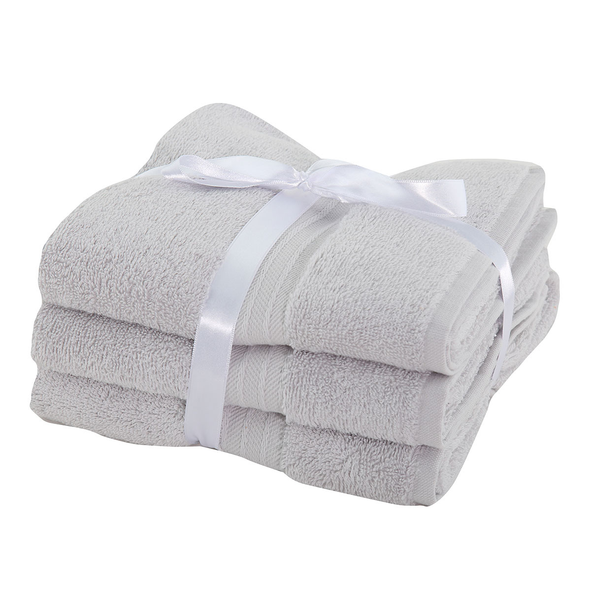 Πετσέτες Προσώπου (Σετ 3τμχ) Nef-Nef Cosy Grey