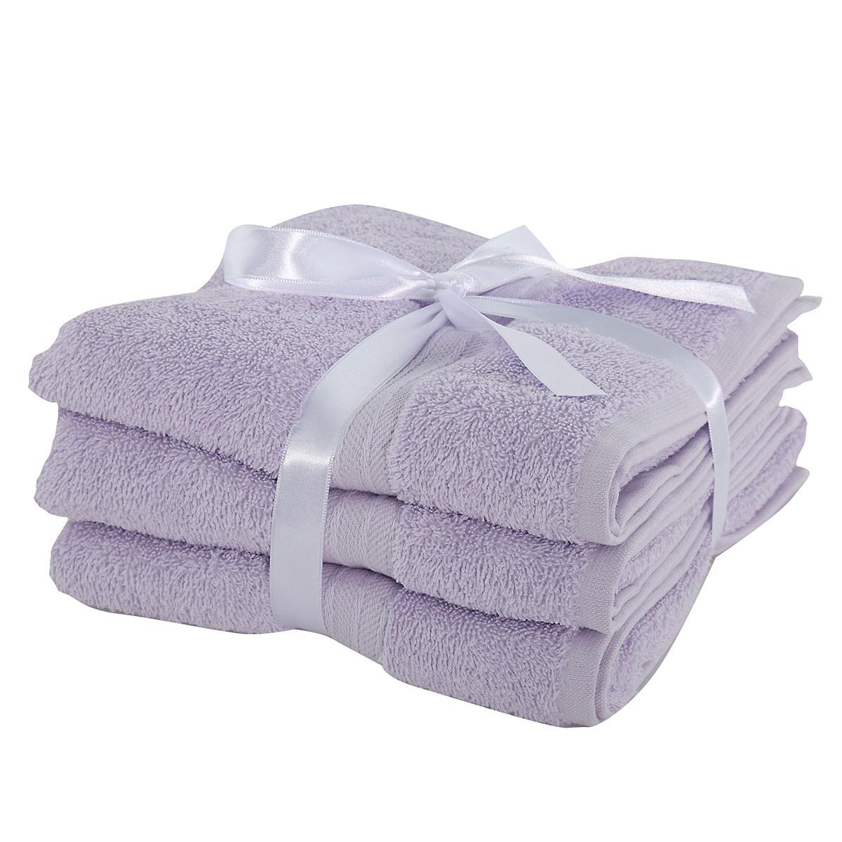 Πετσέτες Προσώπου (Σετ 3τμχ) Nef-Nef Cosy Lavender