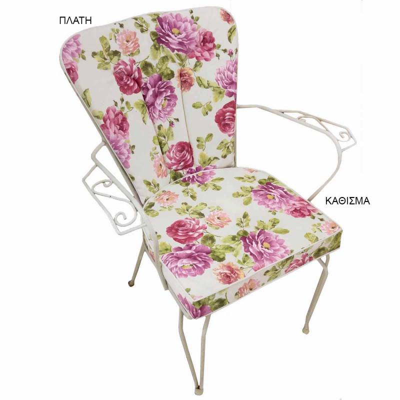 Μαξιλάρι Πλάτης Φερ Φορζέ Be Comfy Jardin Pink 809