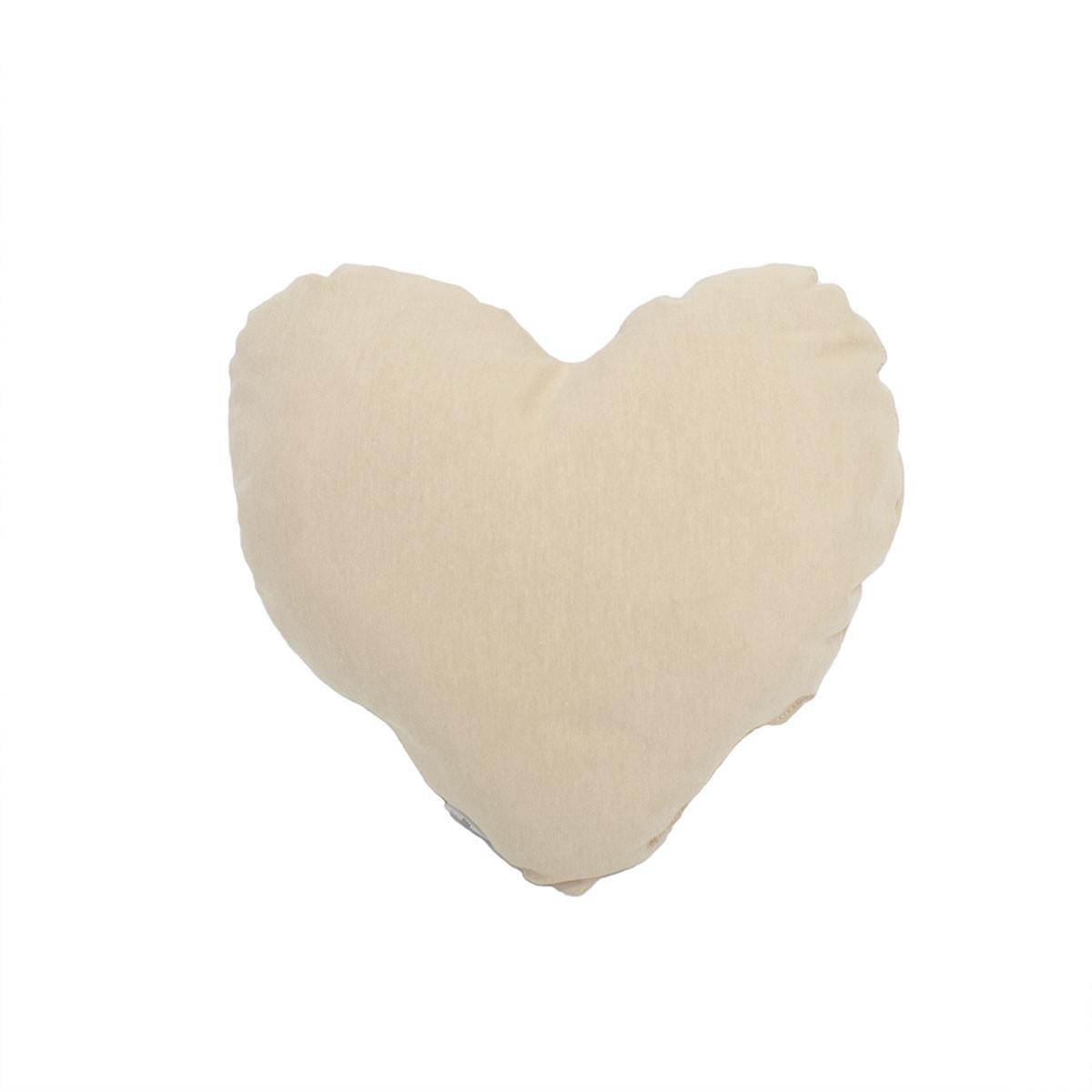 Διακοσμητικό Μαξιλάρι Cigit Heart Beige