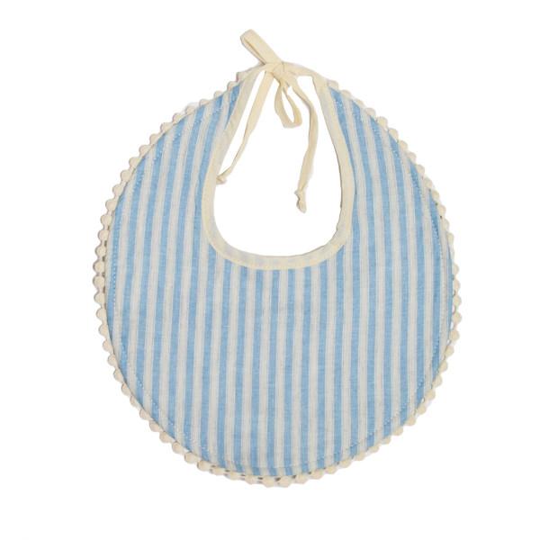 Σαλιάρα 2 Όψεων Cigit Stripes Blue