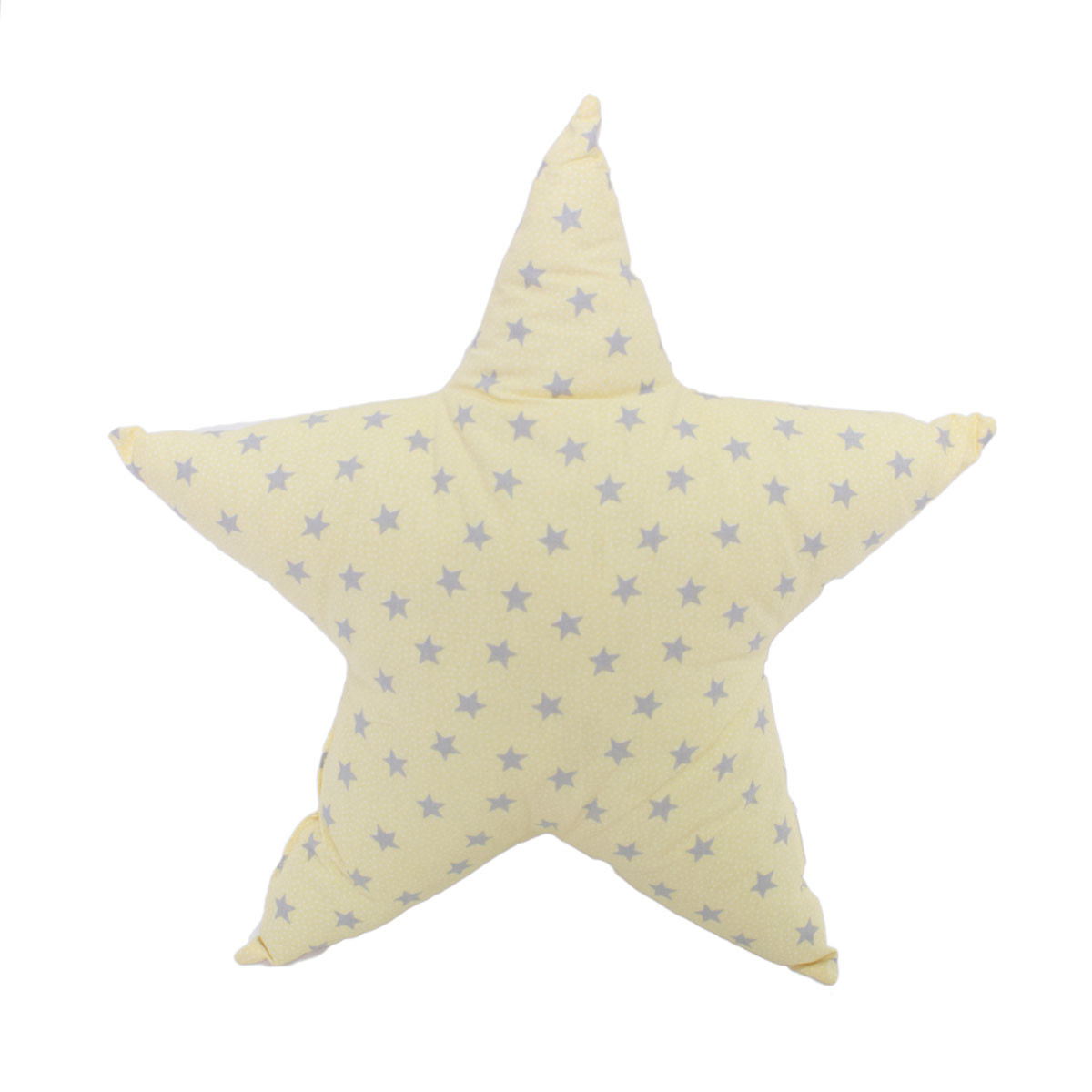 Διακοσμητικό Μαξιλάρι Cigit Star Yellow/Grey