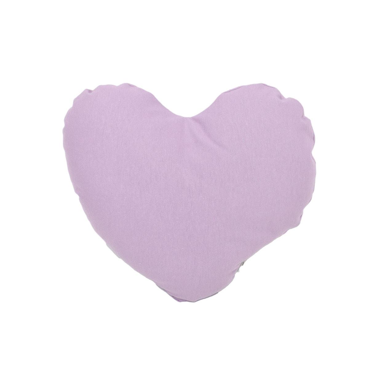 Διακοσμητικό Μαξιλάρι Cigit Heart Lilac