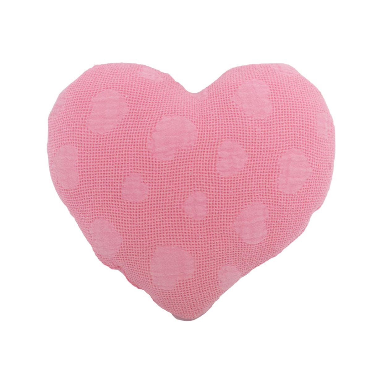 Διακοσμητικό Μαξιλάρι Cigit Heart Zakar Pink
