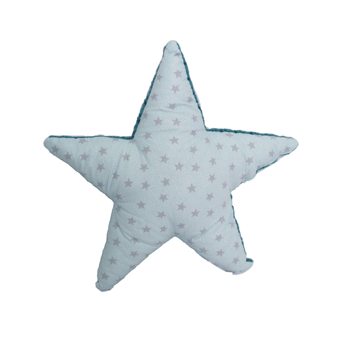 Διακοσμητικό Μαξιλάρι Cigit Star Knitted Blue