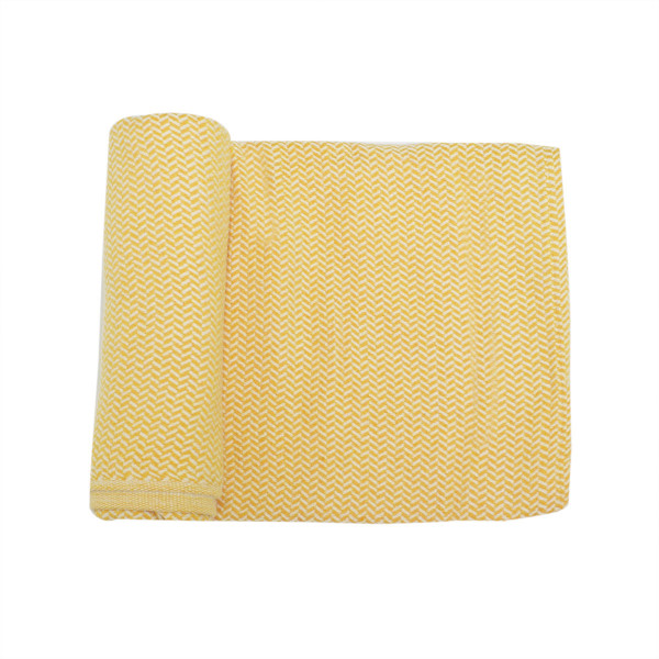 Κουβερτόριο Αγκαλιάς Cigit Straw Mustard Yellow