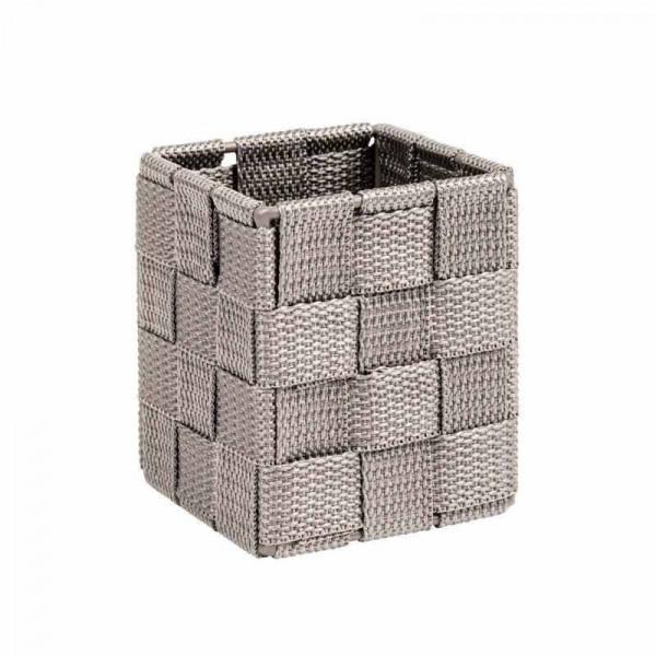 Καλάθι Αποθήκευσης (7.5x7.5x9) Wenko Adria Taupe 22578100