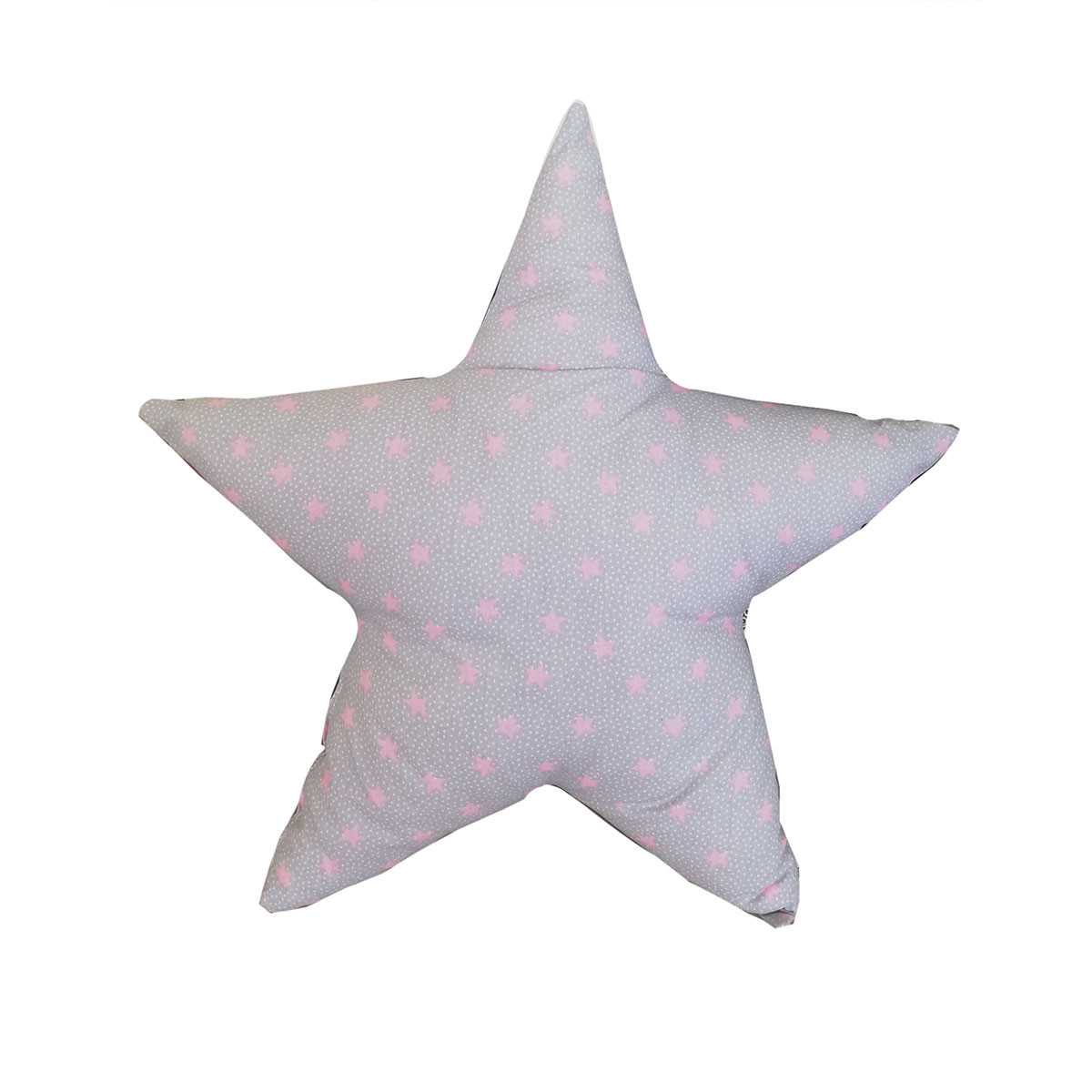 Διακοσμητικό Μαξιλάρι Cigit Star Grey/Pink