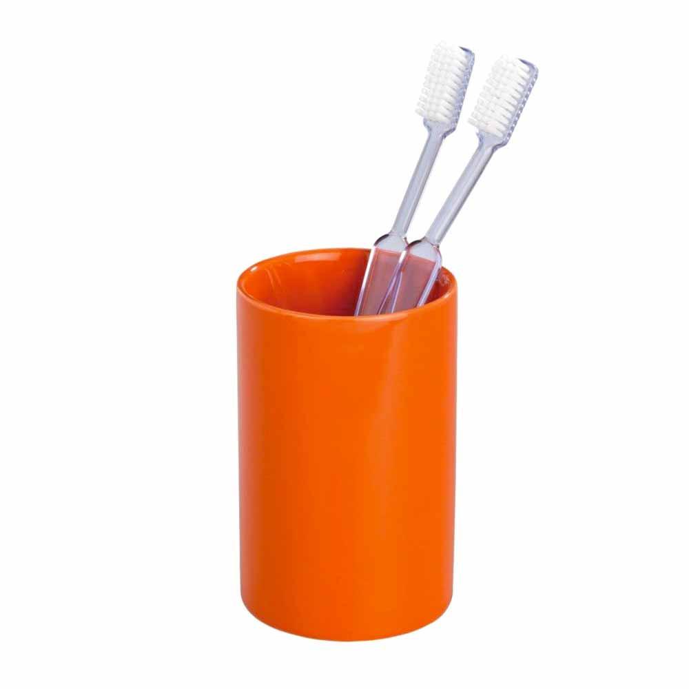 Ποτήρι Οδοντόβουρτσας Wenko Polaris Orange 19300100