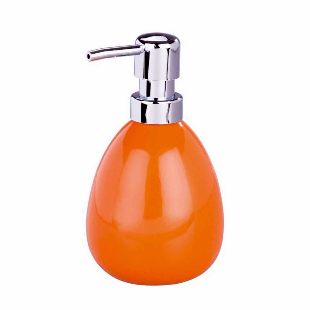 Δοχείο Κρεμοσάπουνου Wenko Polaris Orange 18289100