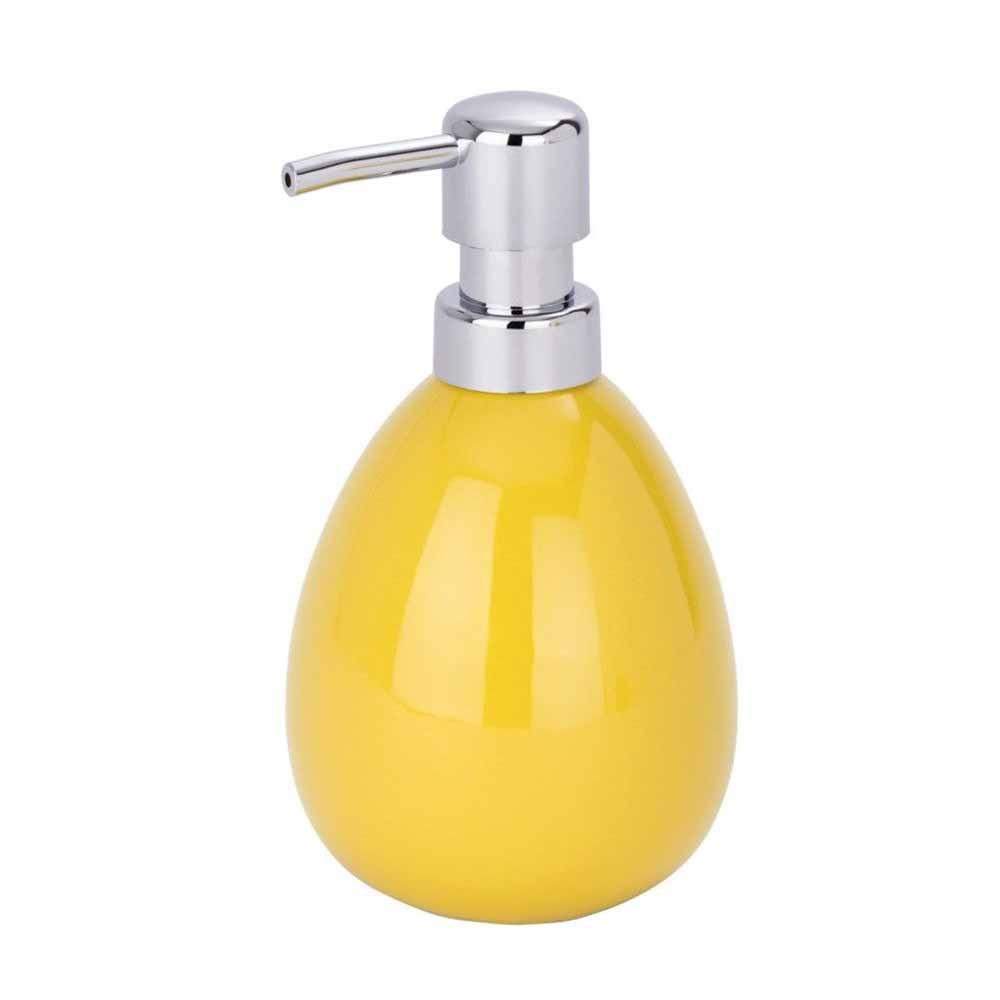 Δοχείο Κρεμοσάπουνου Wenko Polaris Yellow 21660100