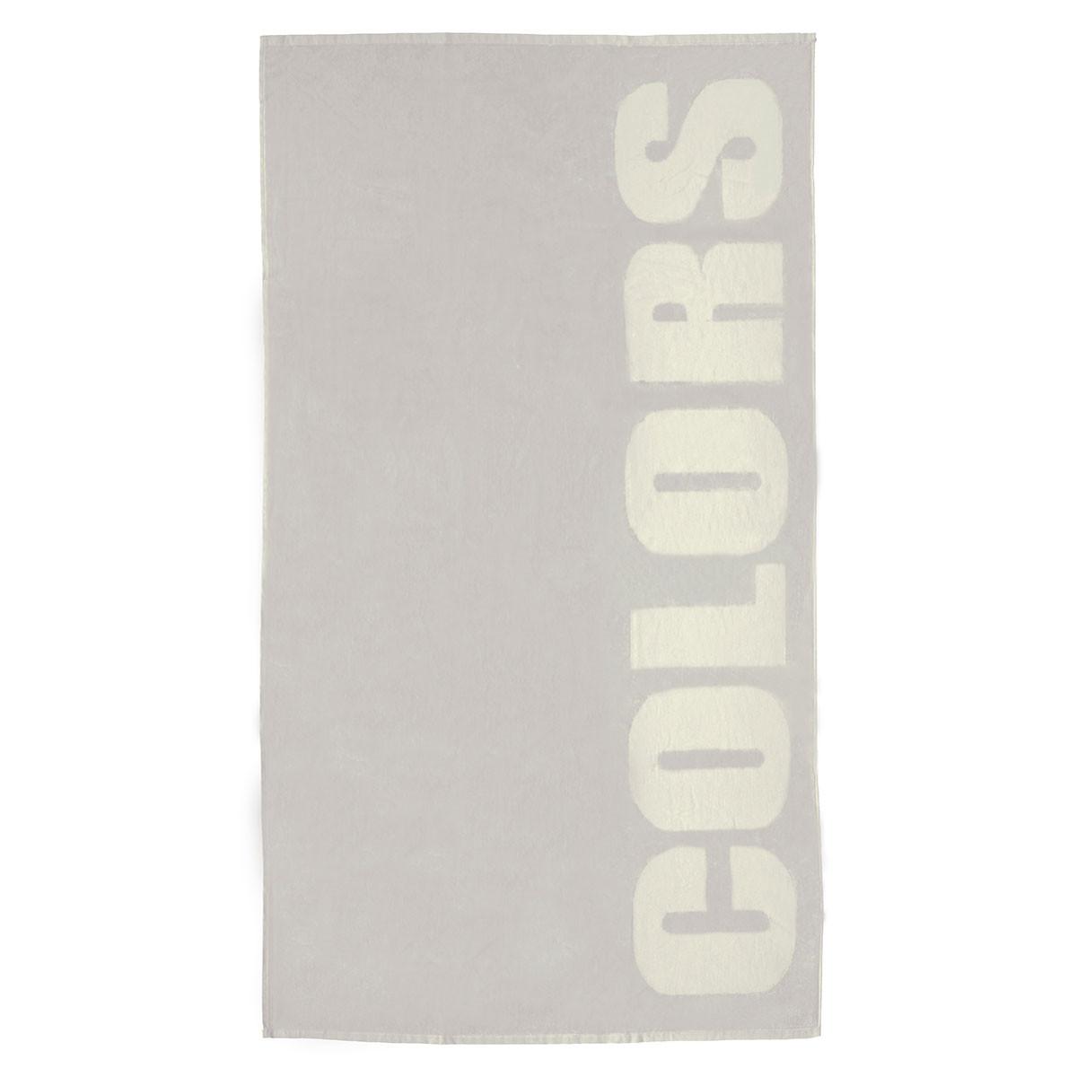 Πετσέτα Θαλάσσης Melinen Colours Grey
