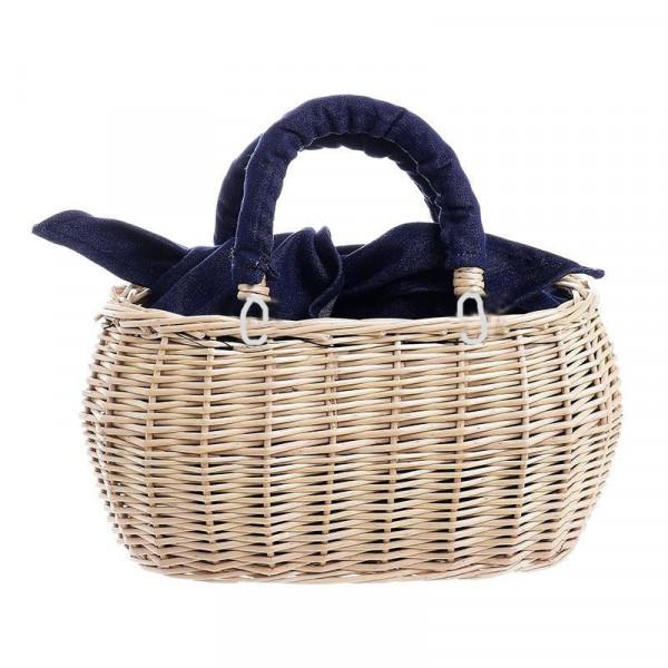 Ψάθινη Τσάντα Θαλάσσης/Καλάθι Ble 5-42-338-0007