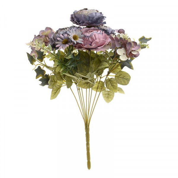 Διακοσμητικό Μπουκέτο Λουλουδιών InArt 3-85-505-0040