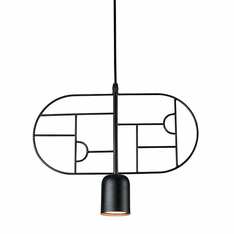 Φωτιστικό Οροφής Μονόφωτο Zambelis 17025 Black Matt