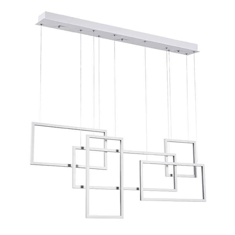 Φωτιστικό Οροφής Led Πολύφωτο Zambelis 180036 White Matt