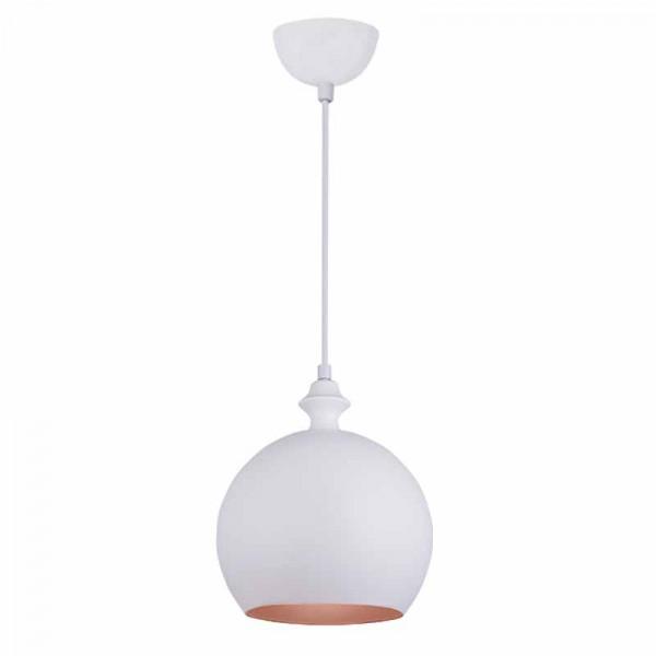 Φωτιστικό Οροφής Μονόφωτο Zambelis 180098 White Matt