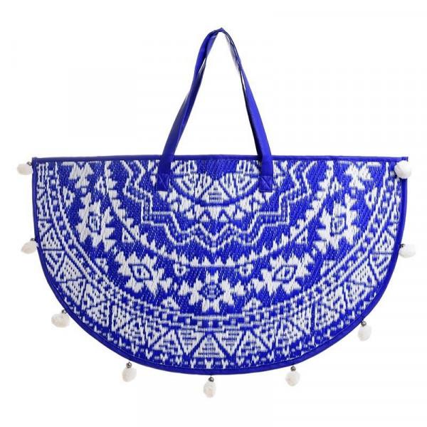 Τσάντα Θαλάσσης InArt Μισοφέγγαρο Μπλε 5-42-806-0054