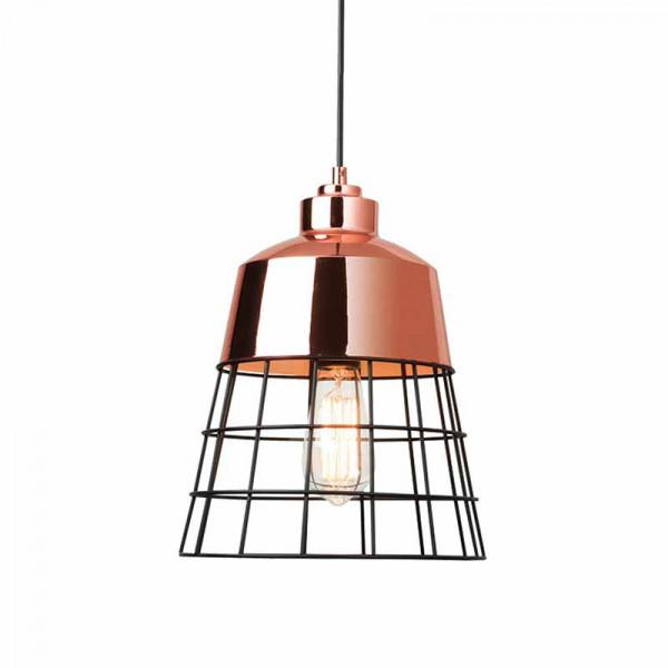 Φωτιστικό Οροφής Μονόφωτο Zambelis 1689 Copper
