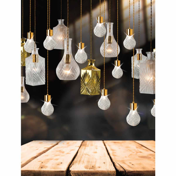 Φωτιστικό Οροφής Μονόφωτο Zambelis 15105 Clear