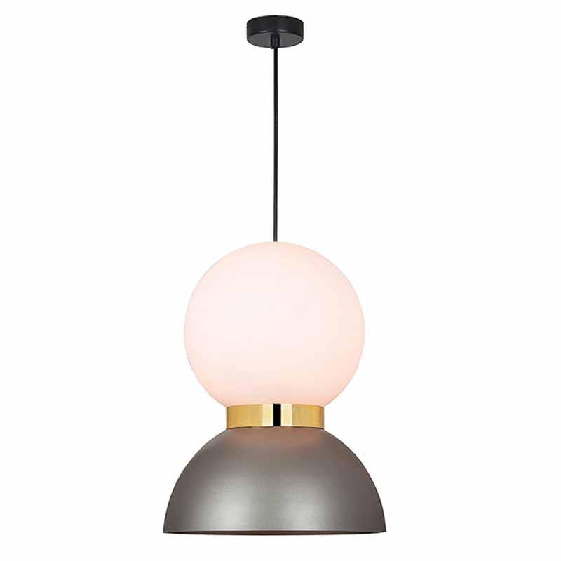 Φωτιστικό Οροφής Μονόφωτο Zambelis 17035 Grey
