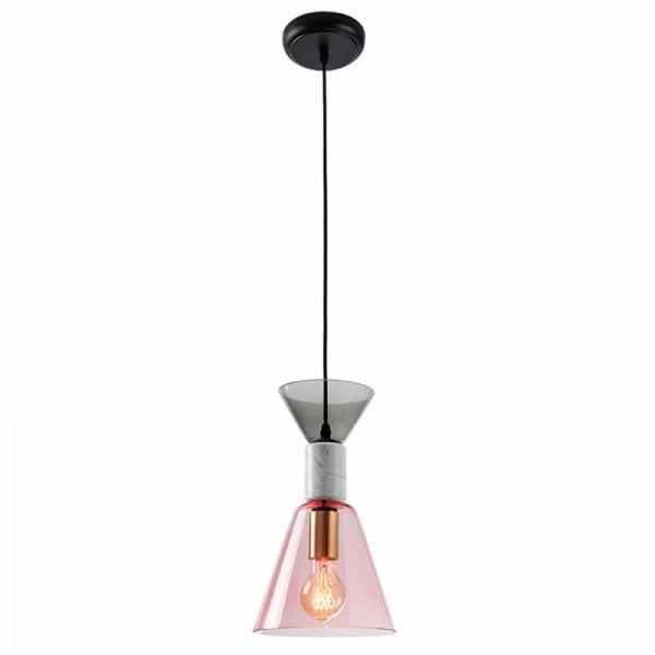 Φωτιστικό Οροφής Μονόφωτο Zambelis 18147 Grey/Pink