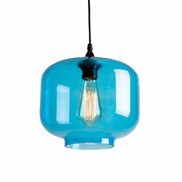 Φωτιστικό Οροφής Μονόφωτο Zambelis 1646 L.Blue