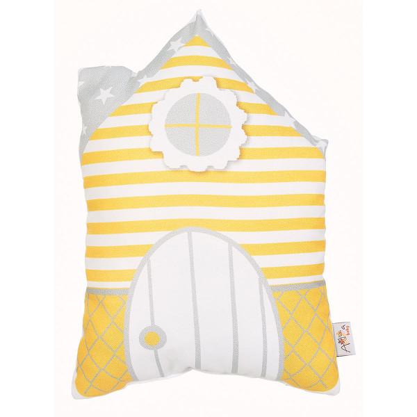Διακοσμητικό Μαξιλάρι (33x25) Apolena Welcome Yellow 530-4961/2