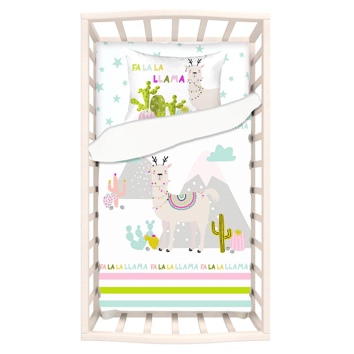 Σεντόνια Κούνιας (Σετ) Apolena Llama 5000/1