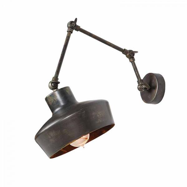 Απλίκα Τοίχου Zambelis 16136 Old Steel