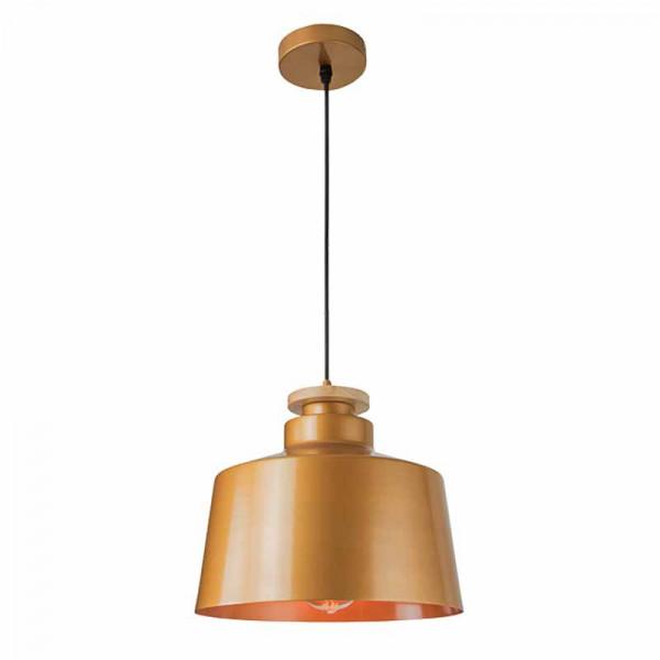 Φωτιστικό Οροφής Μονόφωτο Zambelis 16147 Gold