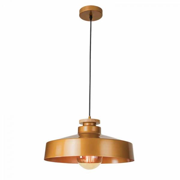 Φωτιστικό Οροφής Μονόφωτο Zambelis 16148 Gold
