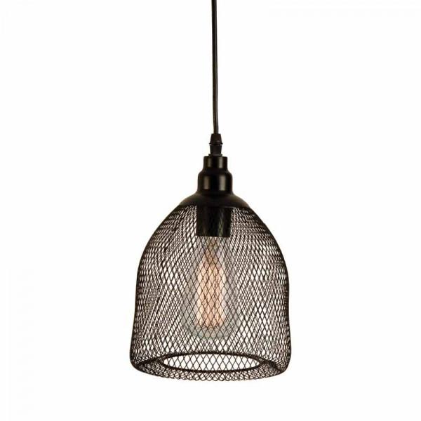 Φωτιστικό Οροφής Μονόφωτο Zambelis 1502 Black Matt
