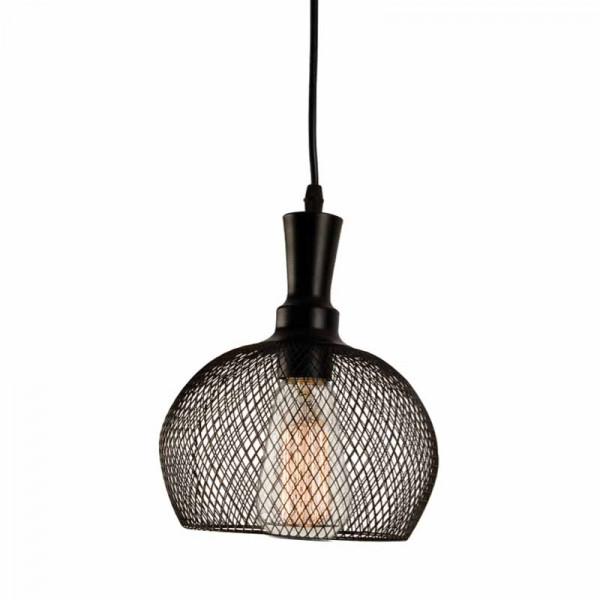 Φωτιστικό Οροφής Μονόφωτο Zambelis 1503 Black Matt