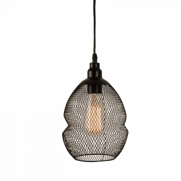 Φωτιστικό Οροφής Μονόφωτο Zambelis 1504 Black Matt