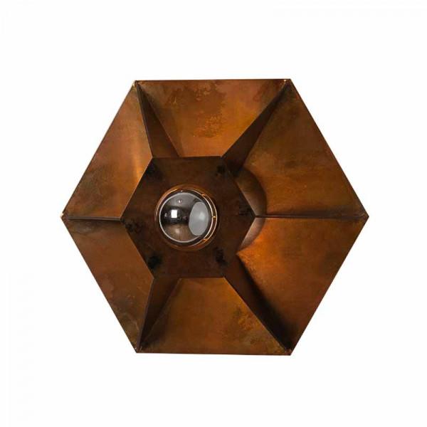 Απλίκα Τοίχου Zambelis 1556 Copper
