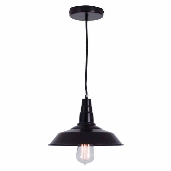 Φωτιστικό Οροφής Μονόφωτο Zambelis 1496 Black Matt