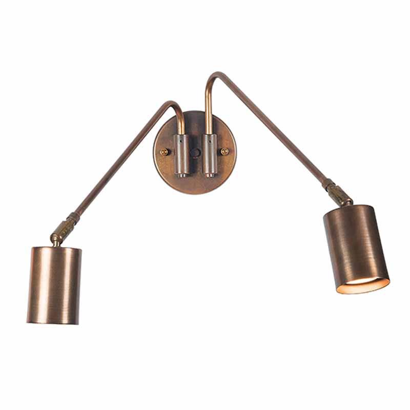 Απλίκα Τοίχου Zambelis 17111 Copper