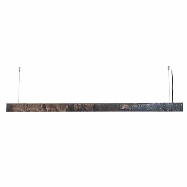 Φωτιστικό Οροφής Led Μονόφωτο Zambelis 17210 Old Steel