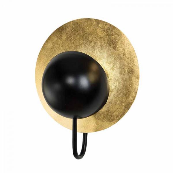 Απλίκα Τοίχου Zambelis 16172 Gold/Black