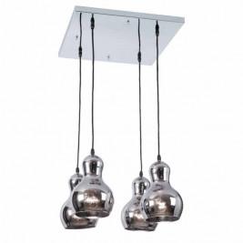 Φωτιστικό Οροφής Πολύφωτο Zambelis 1447 Chrome