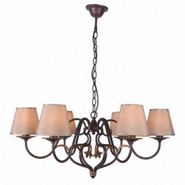 Φωτιστικό Οροφής Πολύφωτο Zambelis 17125 Brown