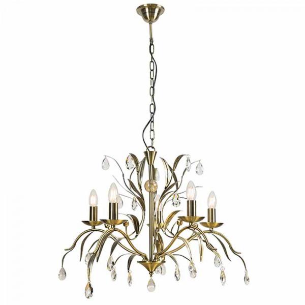 Φωτιστικό Οροφής Πολύφωτο Zambelis 17120 Bronze