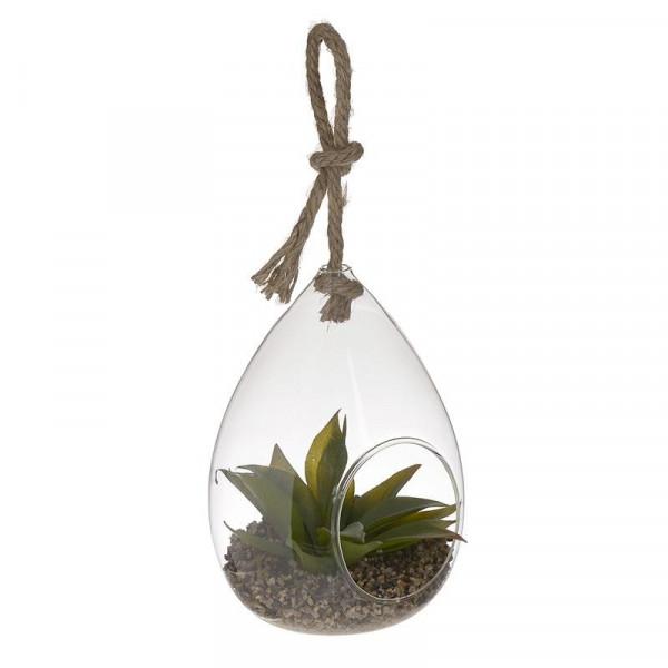 Διακοσμητικό Φυτό Σε Γυάλα InArt 3-85-890-0004