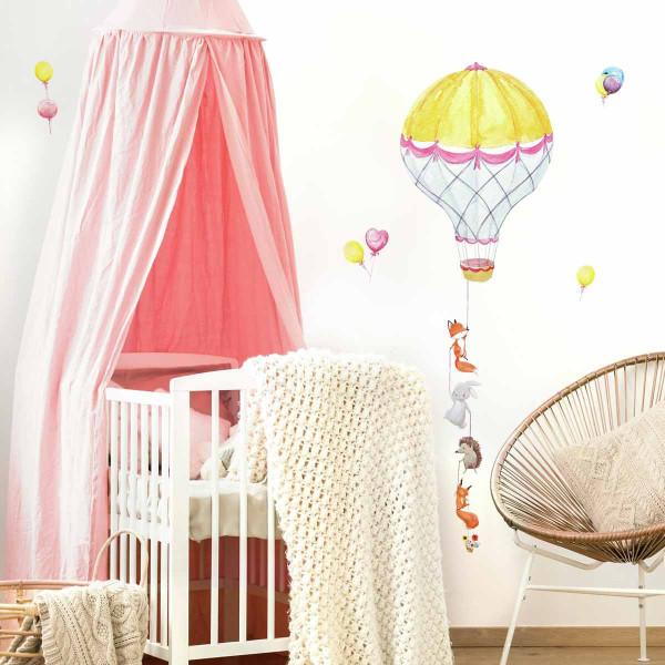 Παιδικό Αυτοκόλλητο Τοίχου RoomMates Αερόστατο RΜΚ3846